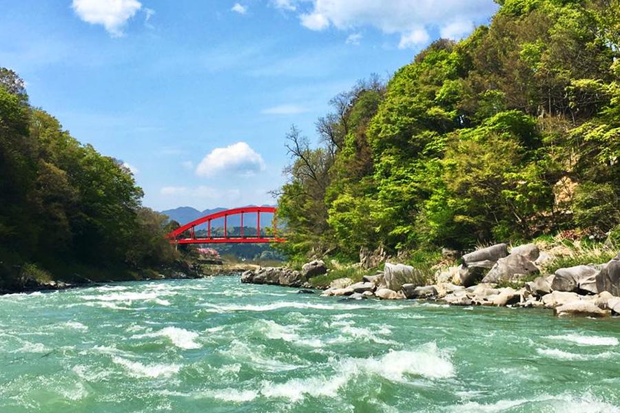 鵞流峡の風景
