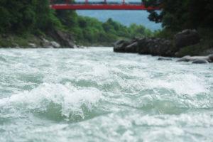 鵞流峡の流れ
